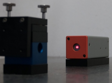 Laserempfänger mit Pentaprisma