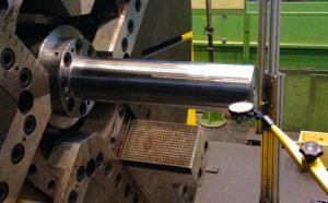 Ausrichten der Maschinengeometrie einer Drehmaschine